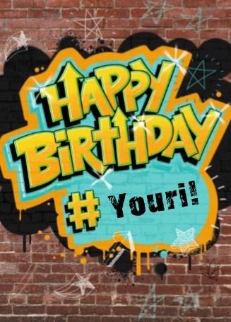 Verjaardagskaart jongens - verjaardag-tiener-happy-birthday