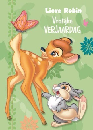 - bambi-en-stampertje-wenst-je-een-vrolijke-verjaardag-toe