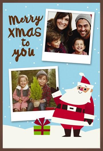 - Fotokaart-choco-kerstman-kerstboom
