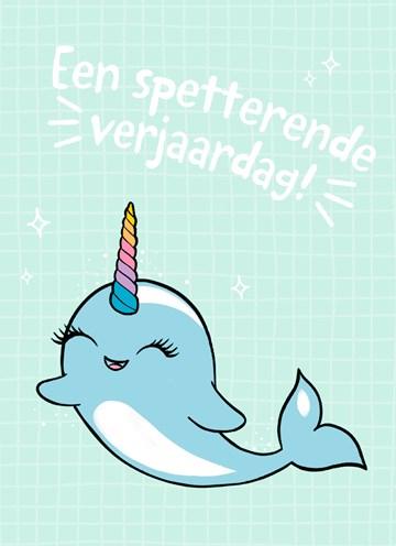 - een-spetterende-narwal-verjaardag