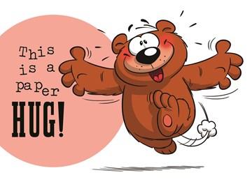 Beterschapskaart - funny-mail-this-is-a-paper-hug
