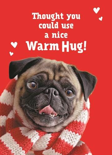 Valentijnskaart - a-nice-warm-hug