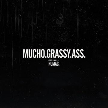 Bedankt kaart - mucho-grassy-ass