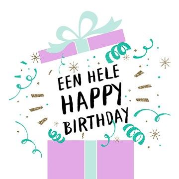 - Een-hele-happy-birthday