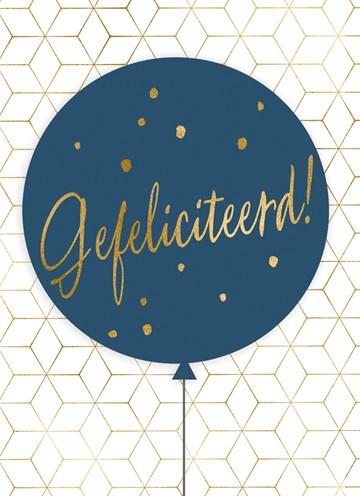 - Verjaardagskaart-man-hip-Ballon-met-gefeliciteerd