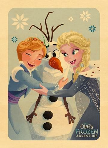 Kerstkaart - kerstkaart-kids-disney