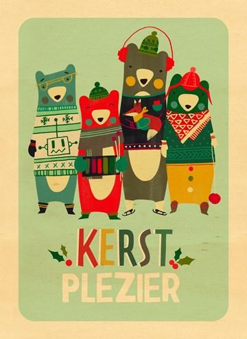 - kerstkaart-kerstplezier