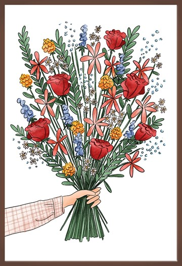 - Chocolade-kaart-feest-verjaardag-bloemen-van-Matia-Studio