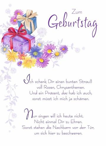 Geburtstagskarte Frau - 71650811-5D7C-475D-93AC-0AC1EE2265EA