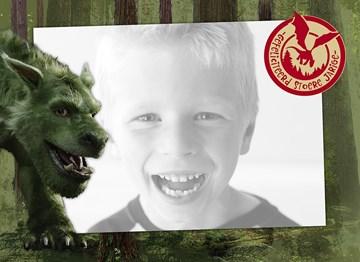 Disney kaart - fotokaart-petes-dragon-gefeliciteerd-stoere-jongen