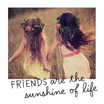 - valentijnkaart-friends-are-the-sunshine-of-life