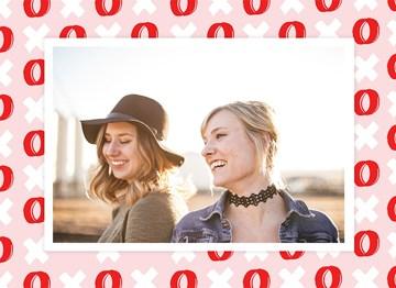 valentijnskaart - valentijnskaart-foto-hip-met-xoxo