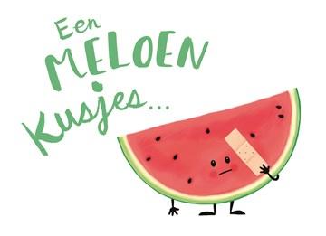 - een-meloen-kusjes-