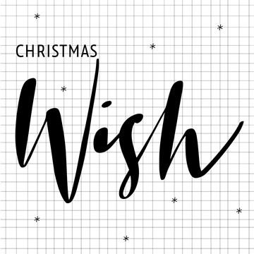 Kerstkaart - hallmark-kerstkaart-christmas-wish