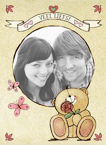 Forever Friends kaart - fotokaart-forever-friends-vlinders