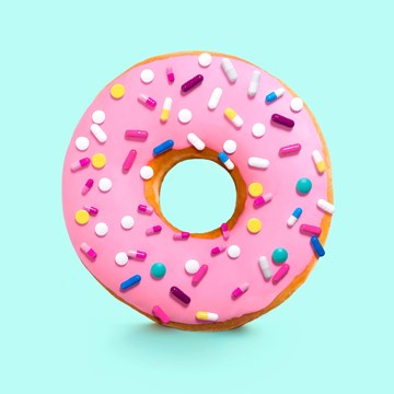 - donut-met-spikkels