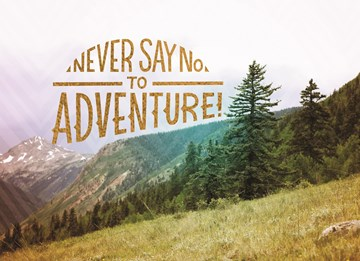 Reizen kaart - never-say-no-to-adventure