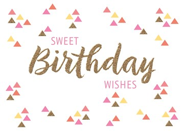 verjaardagskaart vrouw - sweet-birthday-wishes