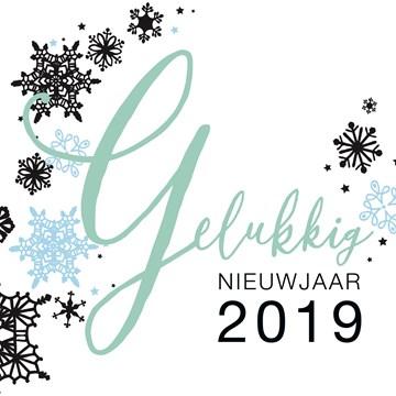 Nieuwjaarskaart - nieuwjaarskaart-gelukkig-nieuwjaar-2018