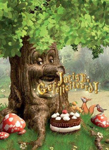 - lachende-boom-met-taart