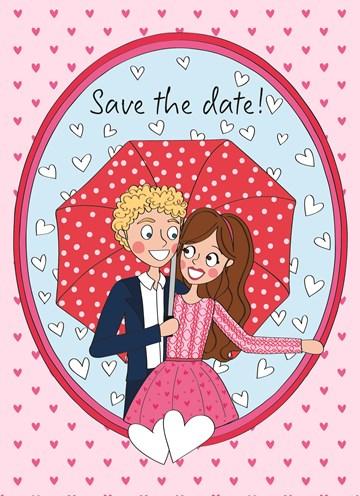 - save-the-date-paraplu