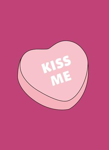 valentijnskaart - Valentijnskaart-grappig--Kiss-me