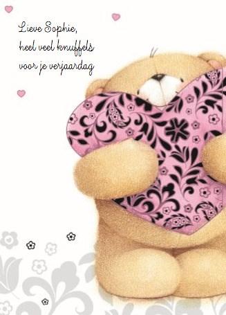 Verjaardagskaart meiden - verjaardag-jarig-knuffels-forever-friends