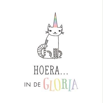 wenskaarten - unicorn-hoera-in-de-gloria