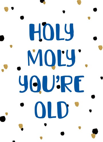 - Verjaardag-man-grappig-Holy-moly-you-are-old