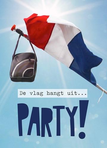 de-vlag-hangt-uit-party