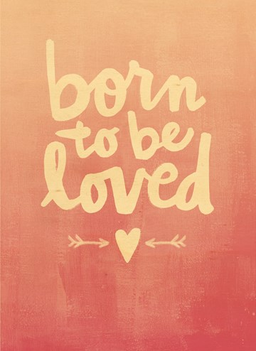 - houten-kaart-geboorte-meisje-born-to-be-loved
