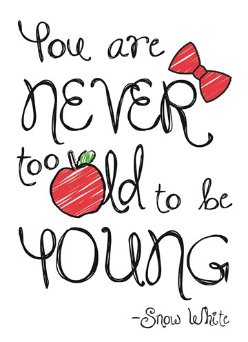 Disney kaart - disney-adult-you-are-never-too-old-to-be-young