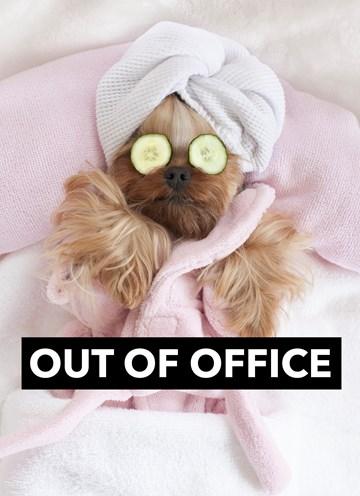 wenskaarten - out-of-office-in-rust