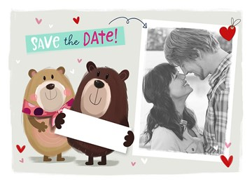 All About Gus - save-the-date