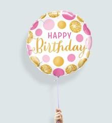 Ballon Verjaardag Glitter