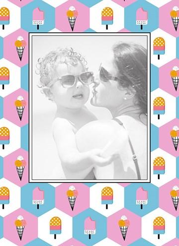 - fotokaart-vrolijk-vakantie-ijsjes