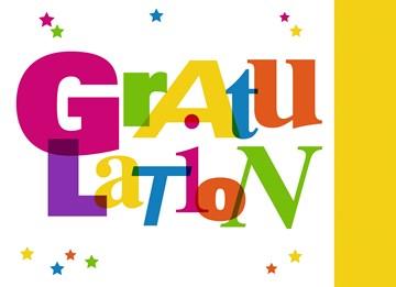 Glückwunschkarte - Gratulationskarte - 7683E766-3F96-4F27-81F3-8641313EEBCC