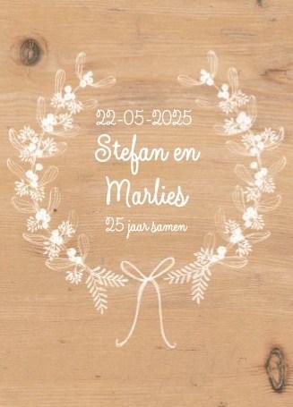 Kaarten Huwelijk 25 Jaar Zilver Hallmark