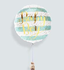 Ballon Baby Boy Stripes