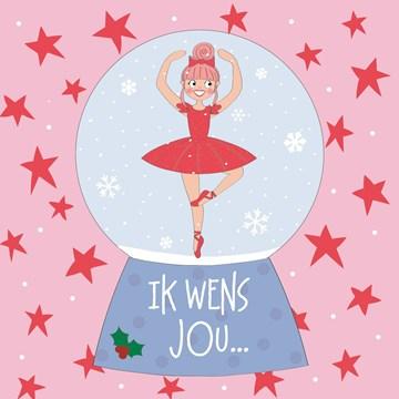 Anne Sara kaart - kerstkaart-ik-wens-jou-dus
