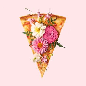 - pizza-met-bloemen