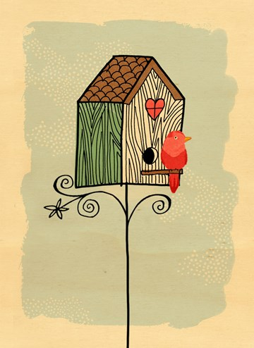 - houten-kaart-vogel-vogelhuisje