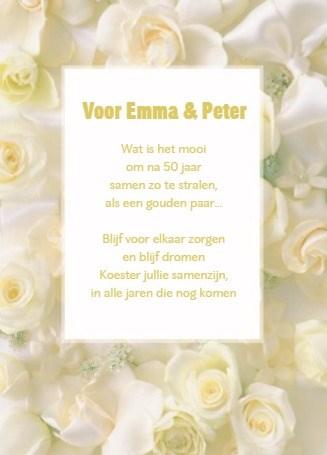 Huwelijkskaart - prachtige-witte-rozen-om-het-samen-zijn-te-vieren