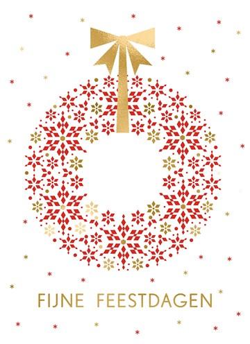 - Kerstkaart-zakelijk-Kerstkrans