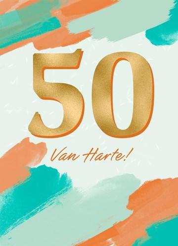 - Verjaardagskaart-50-van-harte