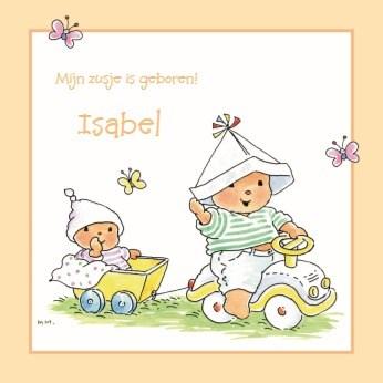 - oranje-geel-geboorte-kaartje