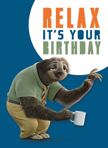 - luiaard-relax-it-is-your-birthday