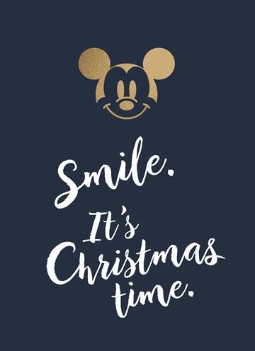 - kerstkaart-smile-its-christmastime