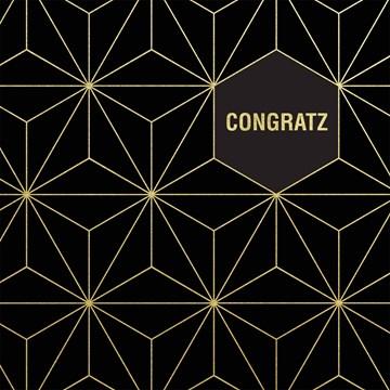 Gold & Fabulous - congratz-met-zwart-en-goud