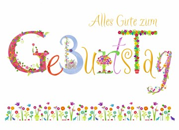 Geburtstagskarte Frau - 6B459E7F-48C0-46DD-92B7-7EE05A9388EF